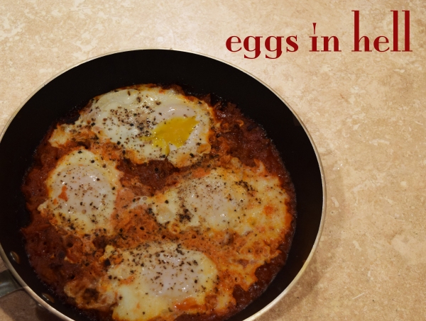 eggs in hell