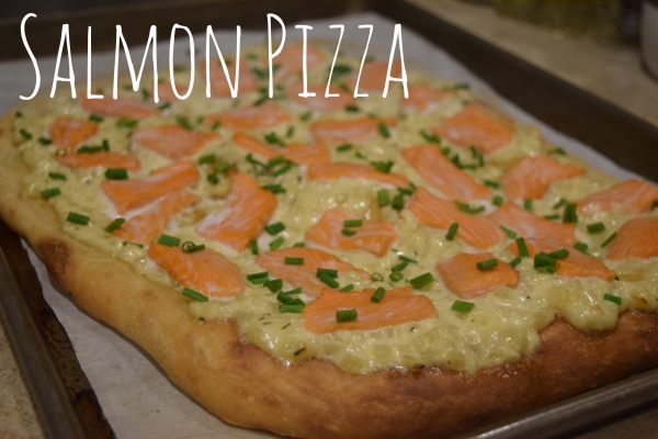 Alaska - Salmon Pizza